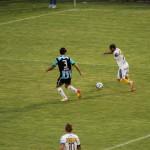 Maraschi y el centro que se convertira en el gol en contra de Schunke