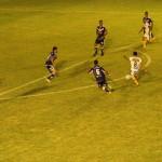 Remate de Galeano para el segundo gol de Atlanta