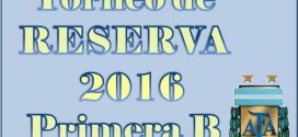 RESERVA: Torneo 2016