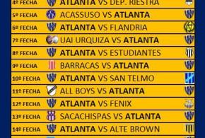 Fixture Bohemio 2018/2019